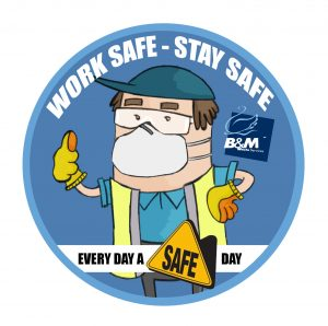 every day a safe day coaster